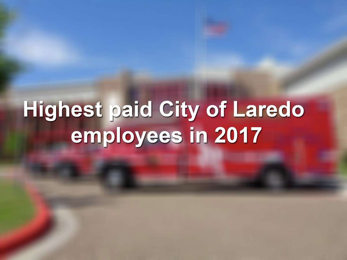 Keep scrolling to see the 30 highest paid city employees in Laredo, according to the most recent data.