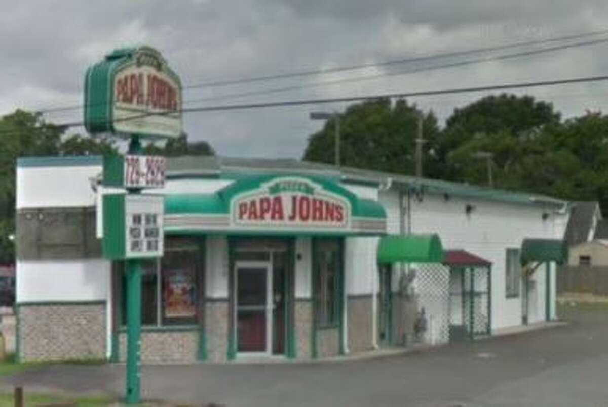 Papa Johns 3004 FM 365 Score: 95 Violations: No sanitized water on site.