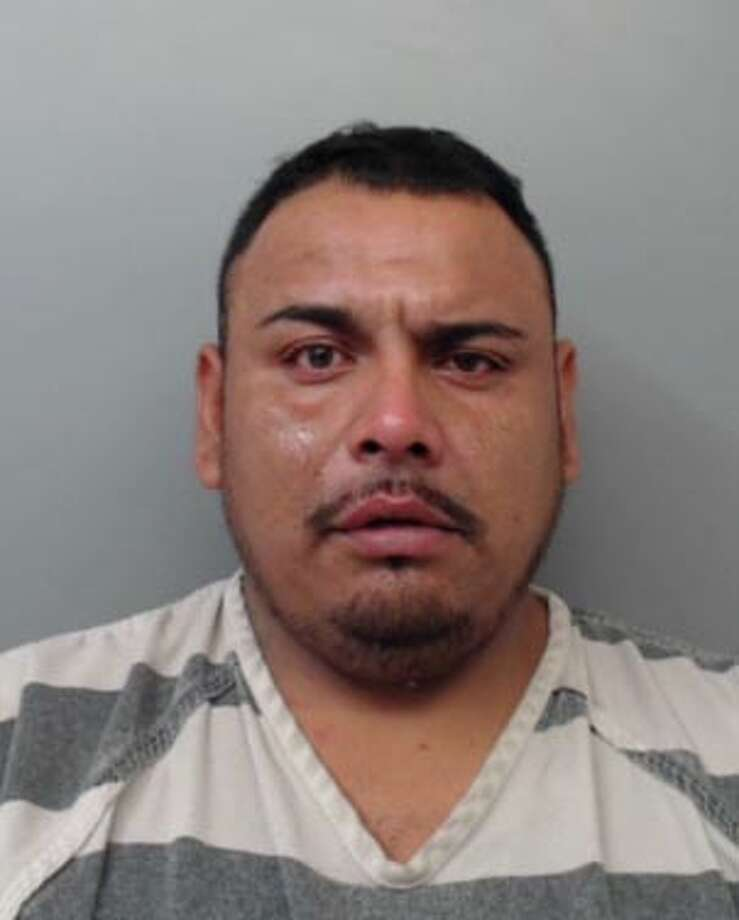 Cesar Tristan-Serrano was charged with assault, family violence, evading arrest in a vehicle and resisting arrest. Photo: Webb County Sheriff's Office