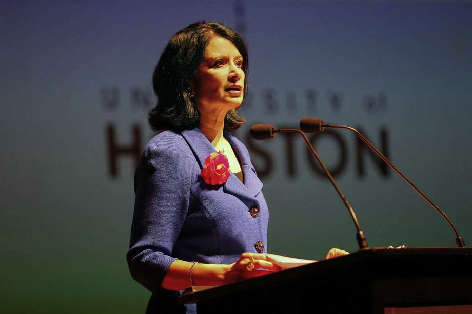 "A University of Houston medical school would ""fill a void in Texas by serving currently under-served communities"" UH President Renu Khato says. >>Best and worst states to be a doctor Photo: Steve Gonzales, Houston Chronicle / Staff Photographer / © 2018 Houston Chronicle"