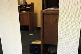 House Majority Leader Kevin McCarthy posted photos on his Instagram hoping to identify thieves who broke into his office in Bakersfield. The photos show three suspects and a large rock on the office floor.
