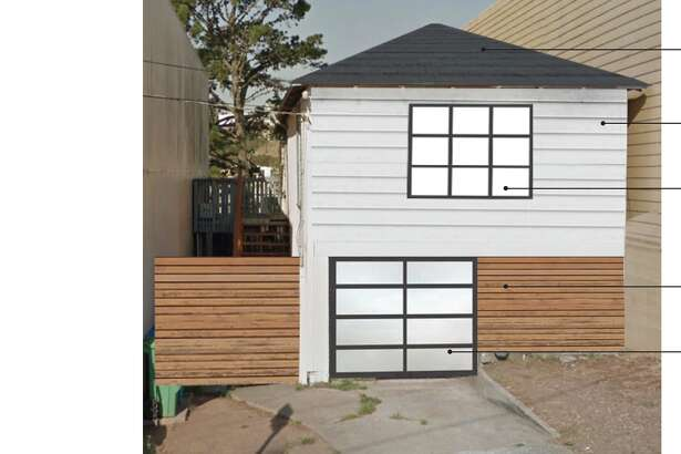 Plans for remodeling a home at 66 Bishop St. in San Francisco's Visitacion Valley.