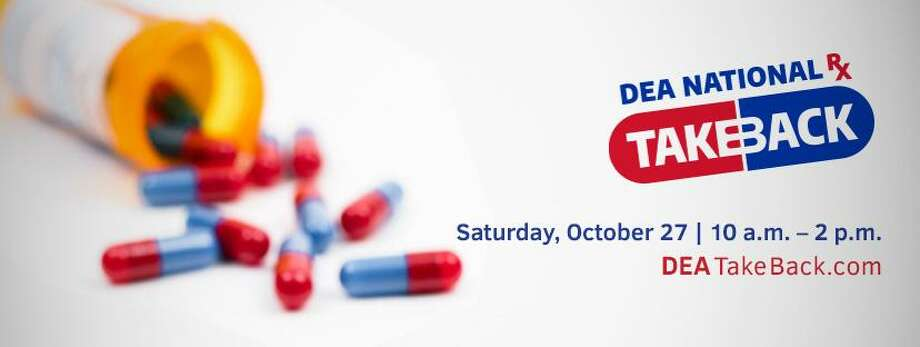 The Connecticut State Police and U.S. Drug Enforcement Administration will be taking expired, unused and unwanted prescription drugs Saturday in Haddam. Photo: Contributed Photo