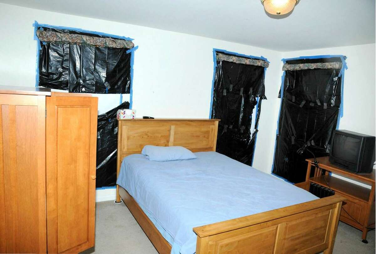 A bedroom in the home of Adam Lanza supplied by the Connecticut State Police.