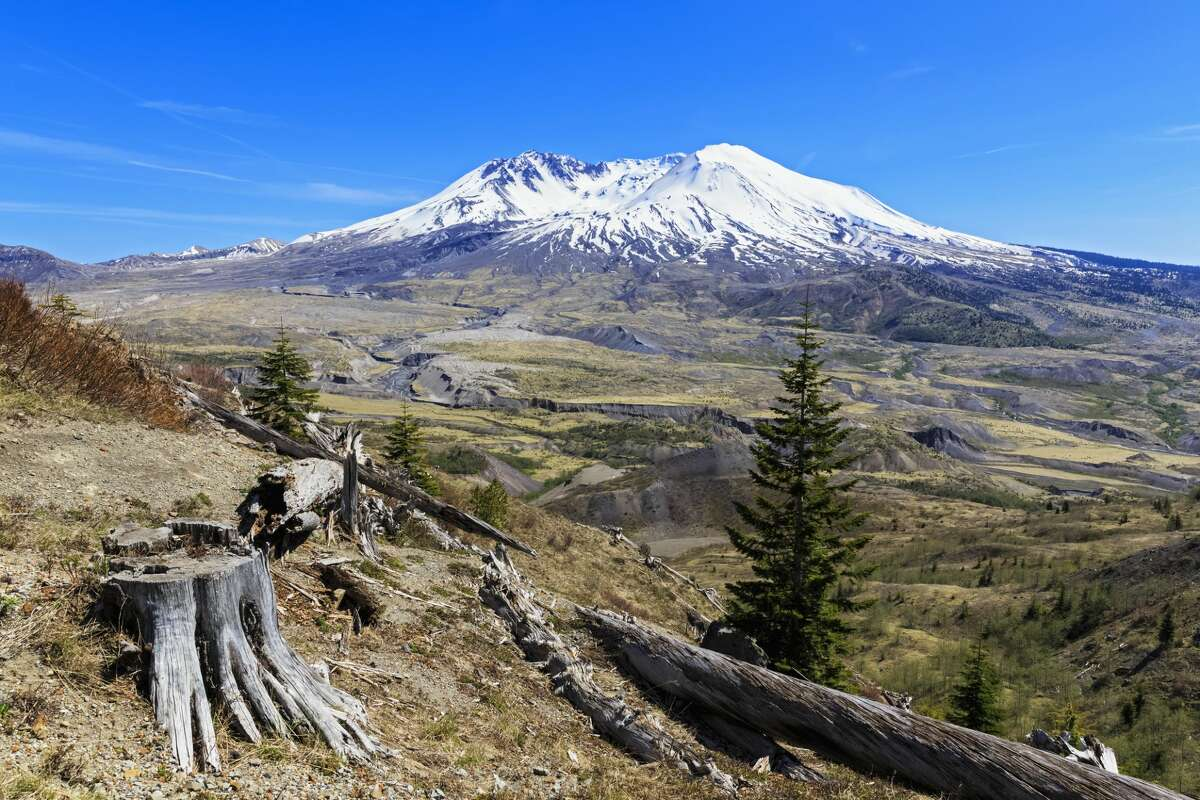 South Coldwater Trail on Mount St. Helens.