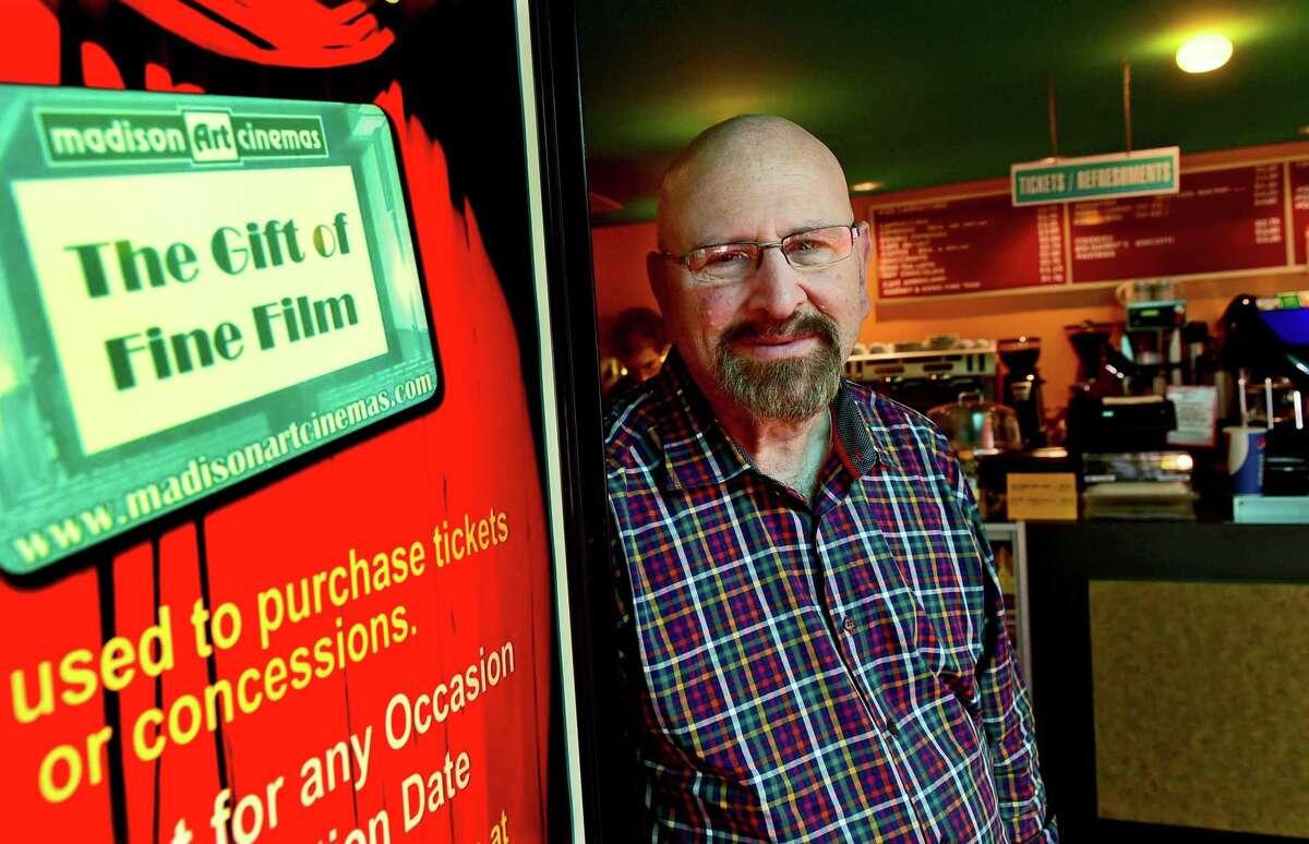 Arnold Gorlick, of the Madison Art Cinema in 2016.