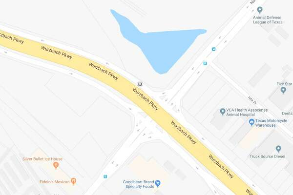 An officer-involved wreck was reported on Wurzbach Parkway near Nacogdoches Road on Oct. 23, 2018.