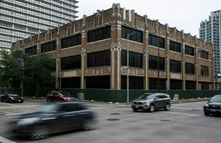 The building that used to house the Houston Press could be demolished soon. Photographed Friday, Oct. 19, 2018, in Houston.
