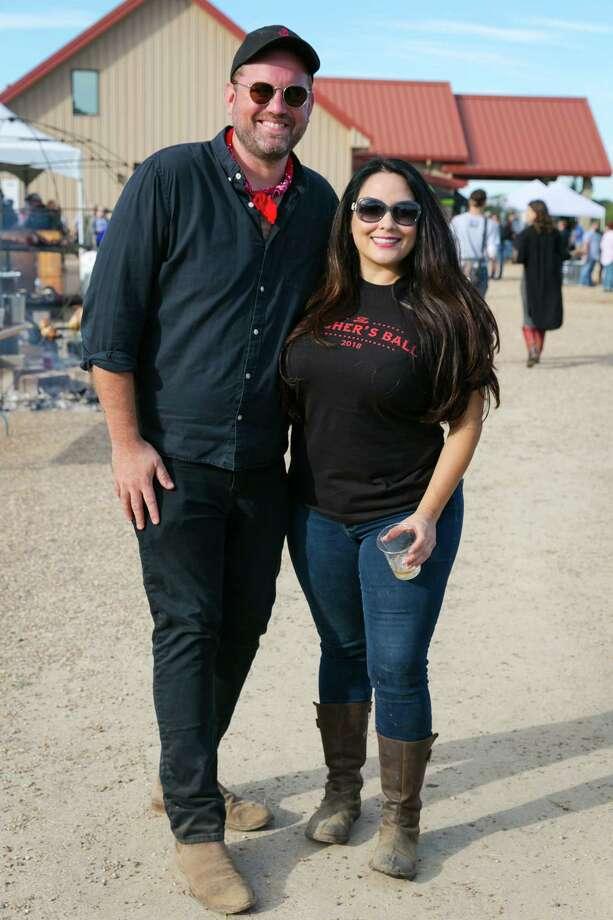 Jonathan Beitler and Alba Huerta at 2018 Butcher's Ball. Photo: Emily Jaschke / PHOTOGRAPHS by Emily Jaschke