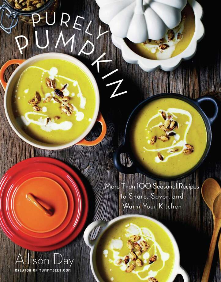 """Book Cover Photo: Courtesy Of """"Purely Pumpkin"""" By Allison Day, Skyhorse Publishing, 2016 /"""