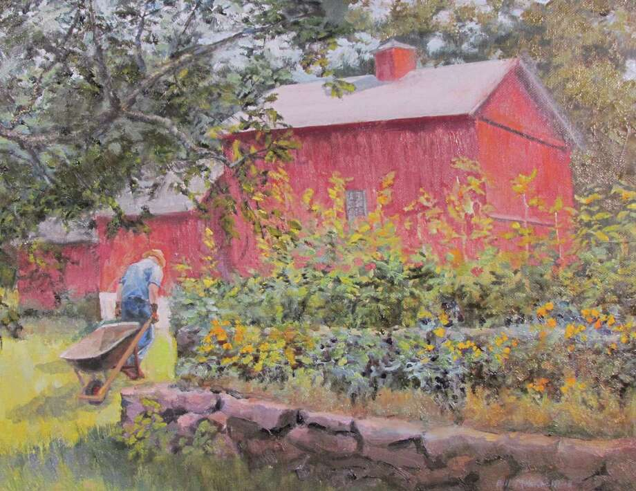"Kent Memorial Library is presenting an exhibit, ""A Rambling Brush,"" featuring works by Gaylordsville resident Bill Merklein, through Oct. 29. Above is Merklein's ""It Never Ends."" Photo: Courtesy Of Kent Memorial Library / The News-Times Contributed"