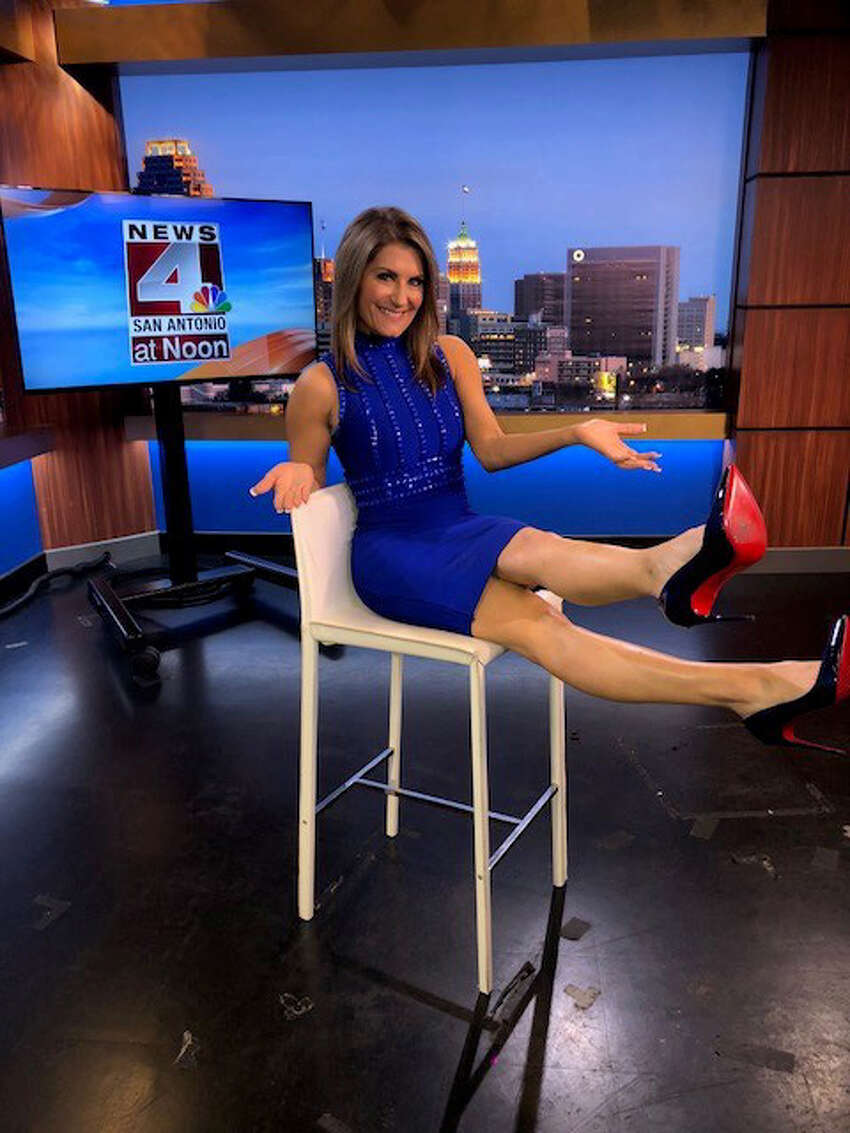 Leslie Bohl on her last day at News 4 San Antonio June 2018. She left the anchor chair after 21 years.
