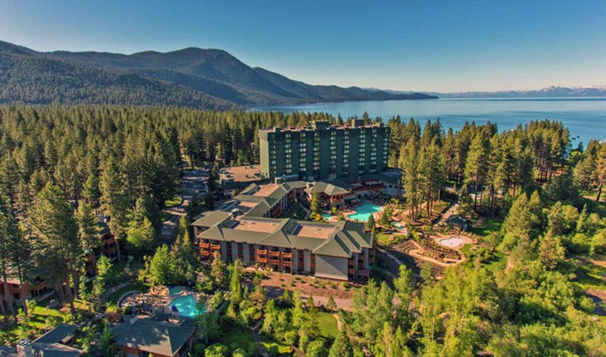 The Hyatt Regency Lake Tahoe.