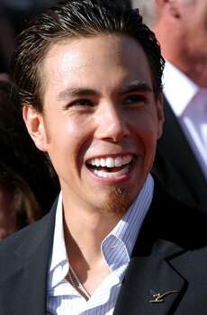 Apolo Ohno arrives at the ESPY Awards on Wednesday, July 14, 2010 in Los Angeles. (AP Photo/Dan Steinberg) Photo: Dan Steinberg