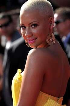 Amber Rose arrives at the ESPY Awards on Wednesday, July 14, 2010 in Los Angeles. (AP Photo/Dan Steinberg) Photo: Dan Steinberg
