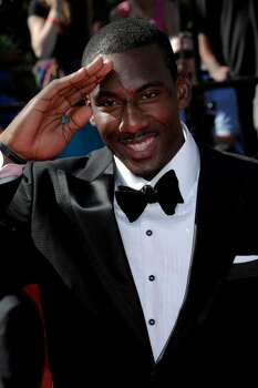 Amare Stoudemire arrives at the ESPY Awards on Wednesday, July 14, 2010 in Los Angeles. (AP Photo/Dan Steinberg) Photo: Dan Steinberg
