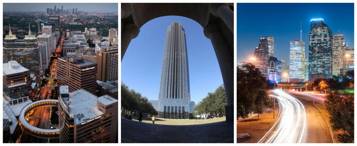 PHOTOS: Facts about Houston's skyscrapers  How many skylines do you think Houston has? One? Two? Maybe as many as seven? >>>Learn more about the tallest buildings in Houston...