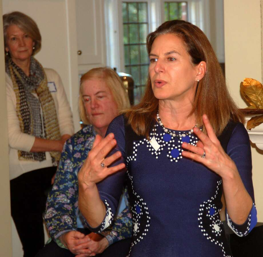 Democratic lieutenant governor candidate Susan Bysiewicz attended a campaign event in Greenwich on Tuesday, Oct. 23, 2018. Bysiewicz said she and Democratic gubernatorial candidate Ned Lamont are feeling optimistic about the election but everyone needs to get out and vote. Photo: Ken Borsuk / Hearst Connecticut Media / Greenwich Time