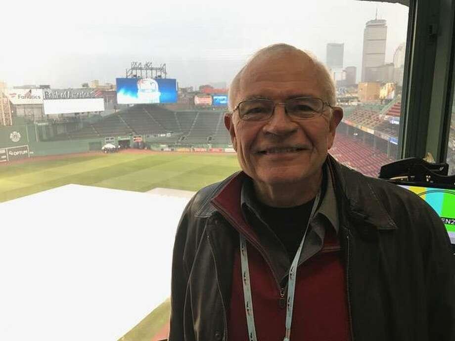 Hamden's Joe Castiglione is in his 36th season as radio voice of the Boston Red Sox. Photo: David Borges / New Haven Register