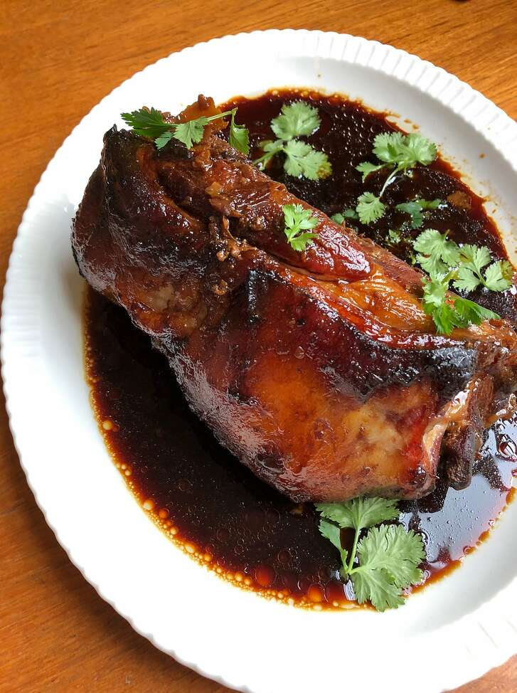 Soy-braised pork shoulder by Jessica Battulana on Saturday, Sept. 29, 2018 in San Francisco, Calif.