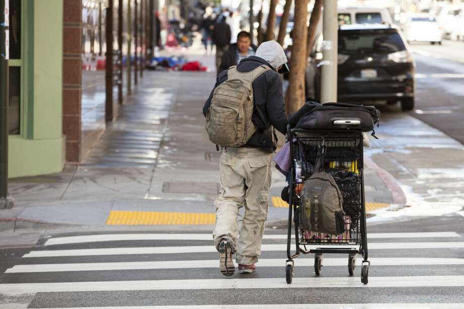 FILE PHOTO: The main people reason people find themselves living on the streets in San Francisco is the city's high cost of housing. Photo: Christian Science Monitor/Christian Science Monitor/Getty