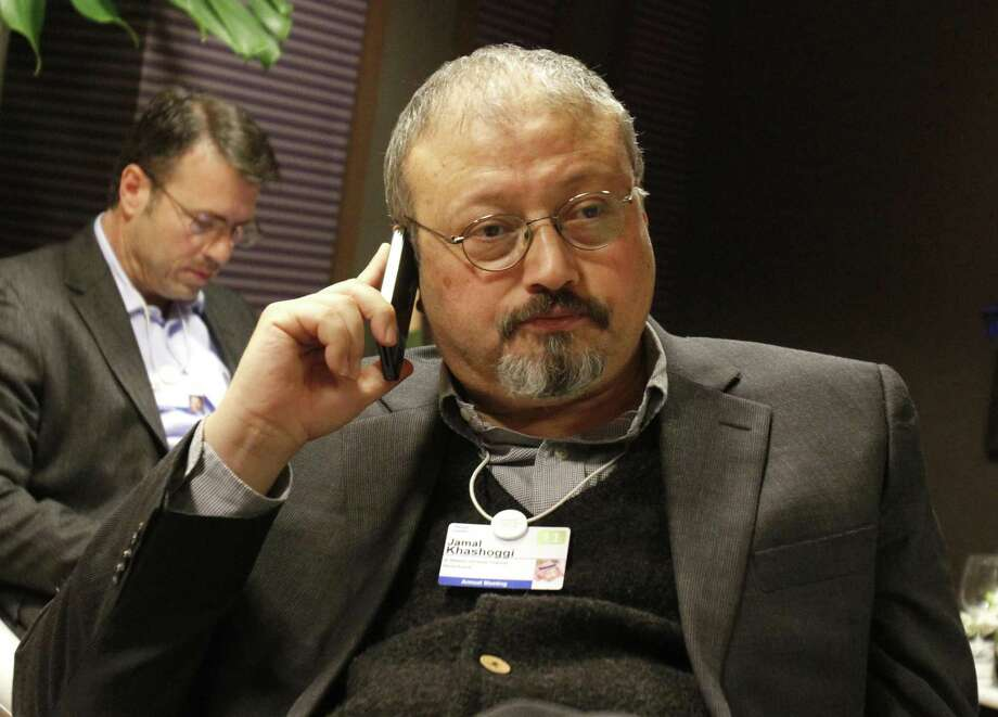 Khashoggi Photo: Virginia Mayo / Associated Press / Copyright 2018 The Associated Press. All rights reserved.