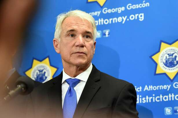San Francisco District Attorney George Gasc-n answers questions during a press conference detailing a new policy which vacates 3000 marijuana-related misdemeanor convictions and 8,000 marijuana-related felony convictions in San Francisco on January 31, 2018.