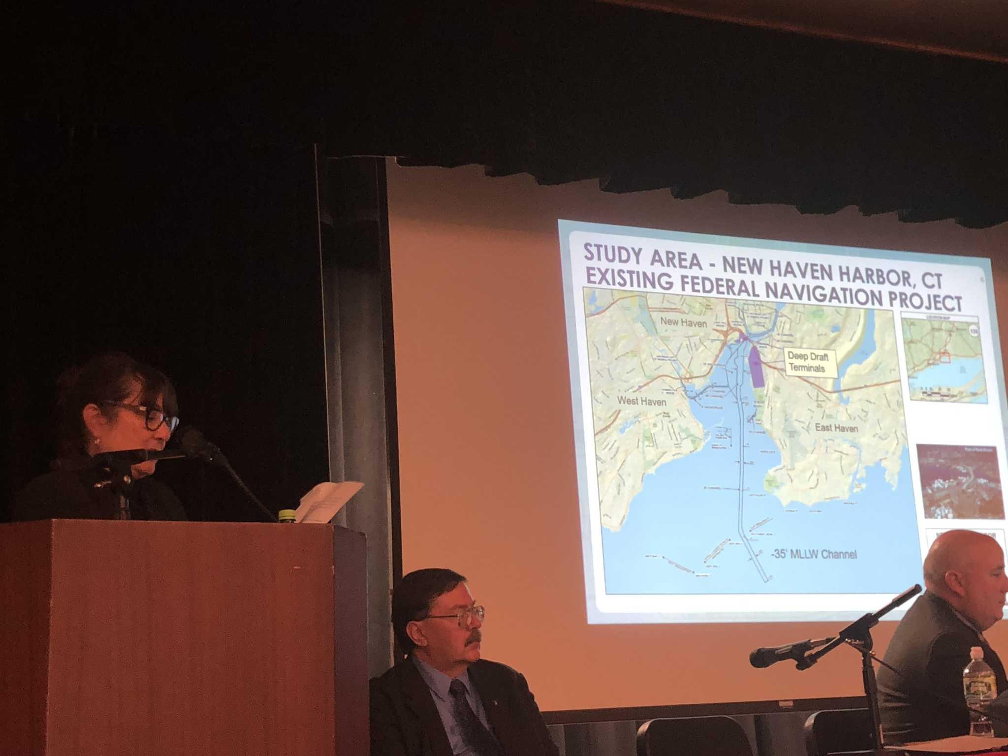 Draft plan would dredge harbor channel 5 feet deeper, 100 feet wider