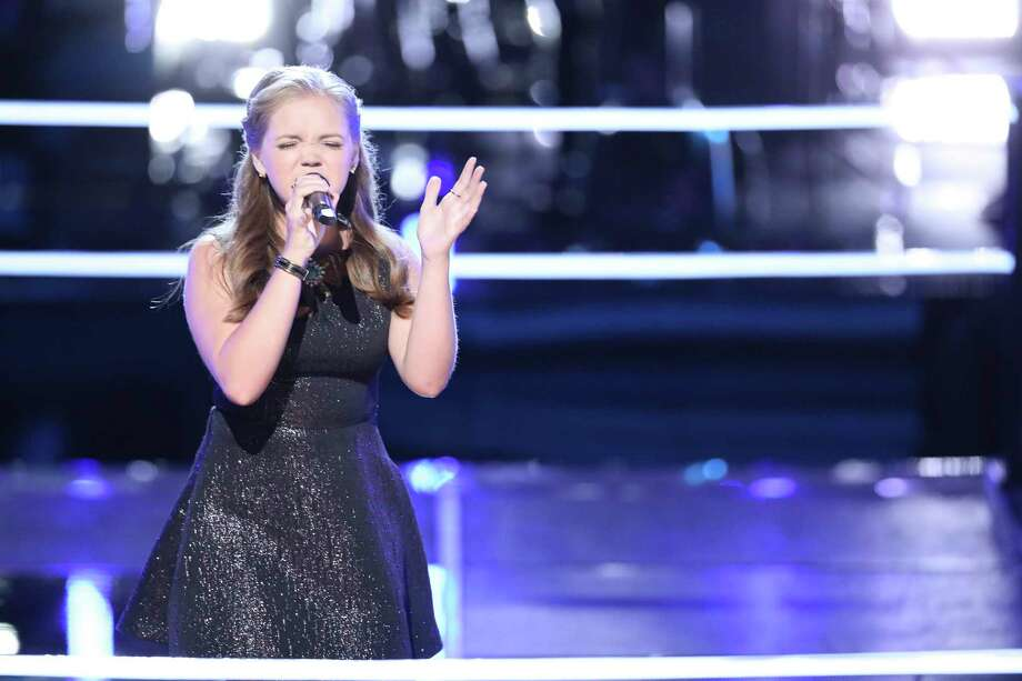 Houston's Sarah Grace is on Team Kelly Clarkson on The Voice. Photo: NBC / 2018 NBCUniversal Media, LLC