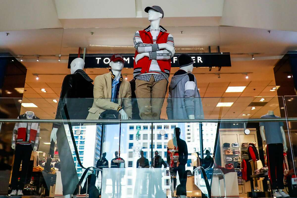 A display is seen in the men's department at Macy's in San Francisco, California, on Tuesday, Oct. 16, 2018.
