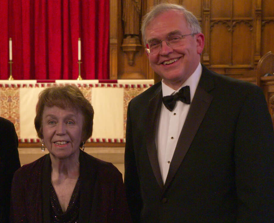Mary Lou Saetta and Alfred Fedak (photo courtesy Mary Lou Saetta / Capitol Chamber Artists)