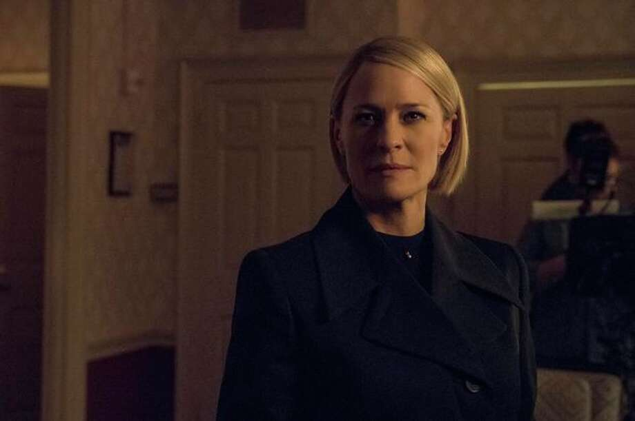 When characters like Claire break the fourth wall on Netflix's House of Cards, viewers never expect to be able to talk back to them and get a response. But 5G could expand video interactivity to make that possible. Photo: Netflix
