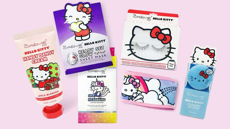 Hello Kitty has launched a new line of skin care products. Photo: Courtesy Photo