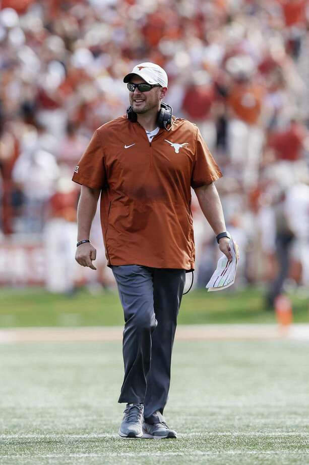 "UT coach Tom Herman reminded his players after an opening loss ""that this one game will not define us."" And six straight wins later — so far, so good. Photo: Tim Warner / Getty Images / 2018 Getty Images"