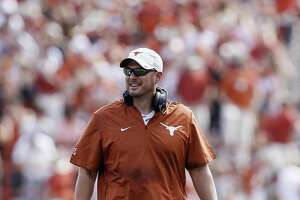 """UT coach Tom Herman reminded his players after an opening loss """"that this one game will not define us."""" And six straight wins later — so far, so good."""
