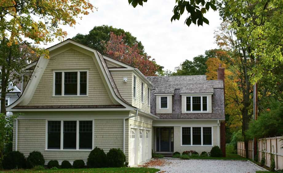 A newly constructed home in the Riverside section of Greenwich, Conn., sold for $4.3 million in October 2018. Sales plunged the month before for new homes in the Northeast to the lowest level since January 2015, according U.S. Census Bureau estimates published on Oct. 24, 2018. Photo: Alexander Soule / Hearst Connecticut Media / Stamford Advocate