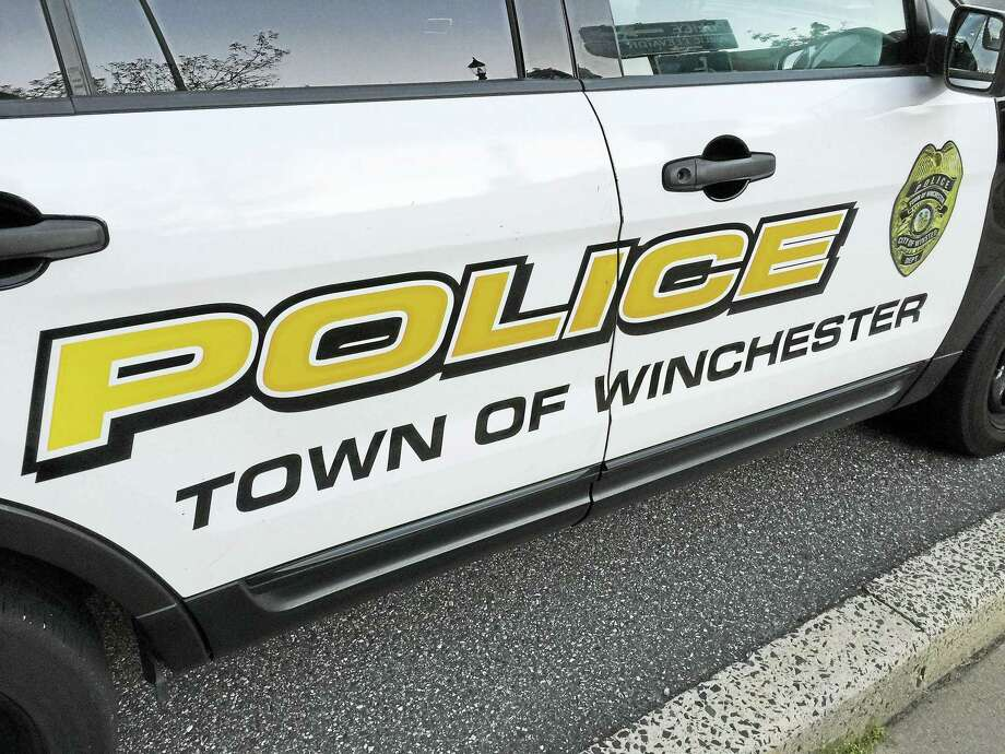 A Winchester police vehicle, as seen outside of the station. Photo: Ben Lambert / Digital First Media