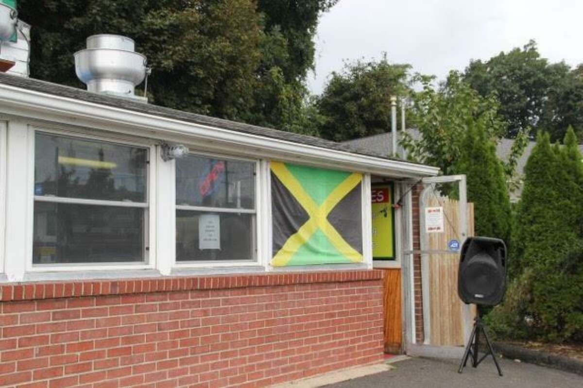 The former Swanky Franks is now a Jamaican jerk restaurant called No Leftovers.