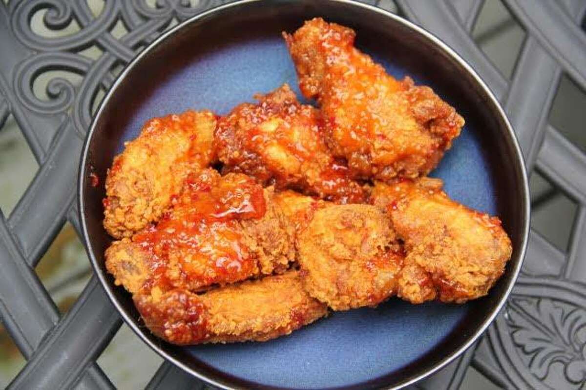 Jerk wings are tender and delicious at No Leftovers in Norwalk.