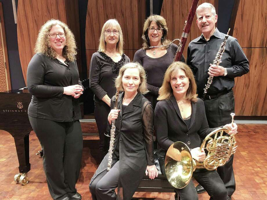 The Madera Winds Quintet will be joined by pianist Laurel Larsen for Wilton Library's opening concert in its Connecticut's Own Concert Series on Sunday, Nov. 4 at 4 p.m. Photo: Contributed Photo / Contributed Photo / Norwalk Hour contributed