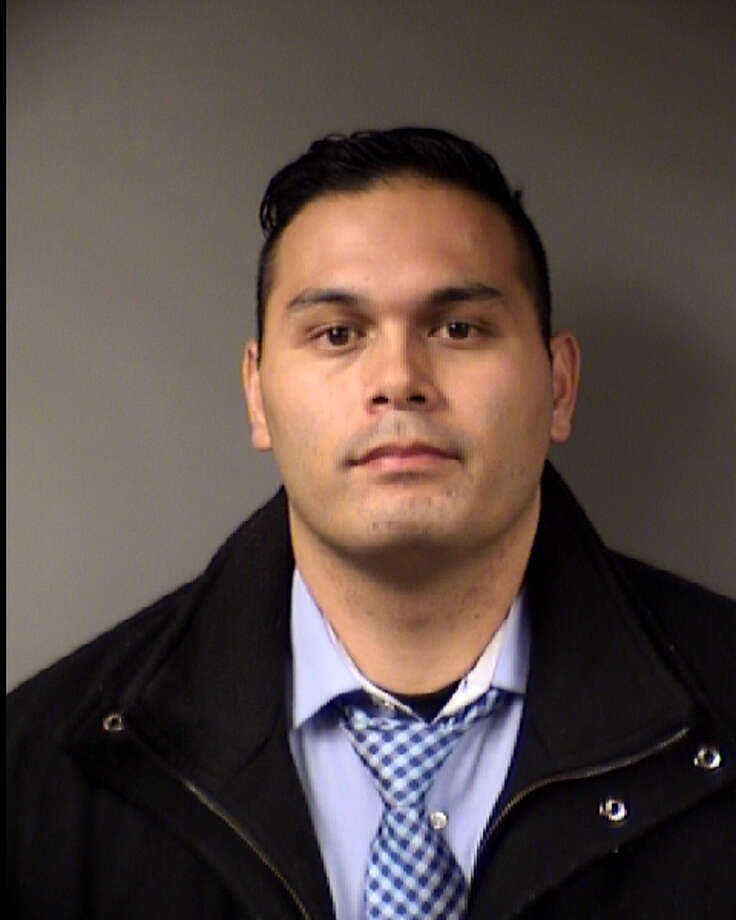 Officer Gary Tuli was indicted on a charge of official oppression Tuesday, according to online court records. Photo: Bexar County Jail