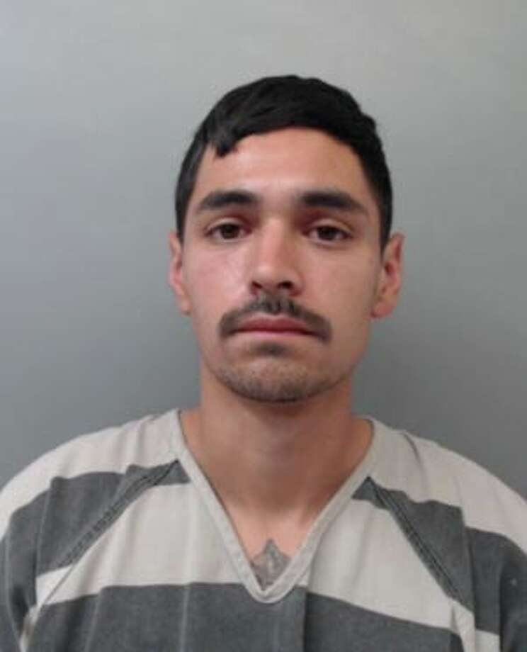 Steven Martinez, 26, was charged with evading arrest with a vehicle. Photo: Webb County Sheriff's Office