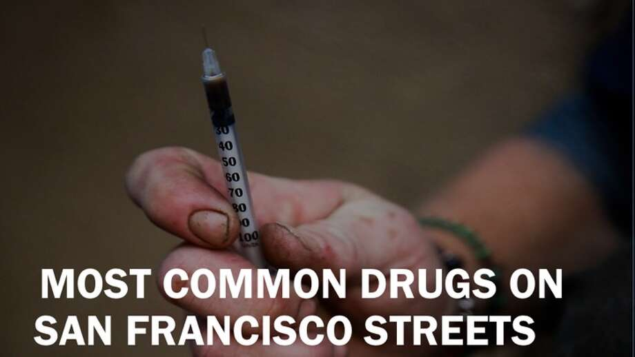 These drugs tallied the most possession/sales SFPD reports on San Francisco streets from 2015-2018. (Source: datasf.org) Photo: Gabrielle Lurie, San Francisco Chronicle