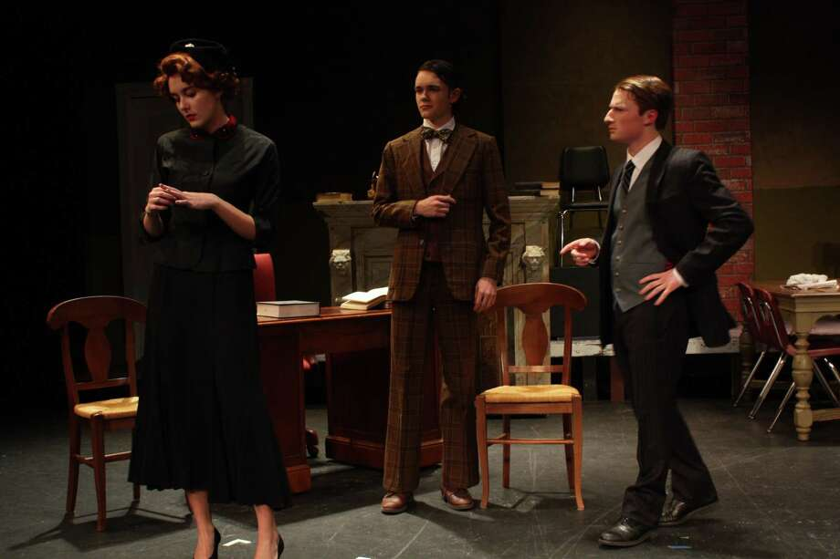 """""""A Witness for the Prosecution"""" kicks off at Wilton High School's Little Theater on Nov. 1 at 7:30 p.m. Three subsequent shows will be held on Nov. 2 at 8 p.m., and Nov. 3 at 4 p.m. and 8 p.m. Photo: Contributed Photo"""
