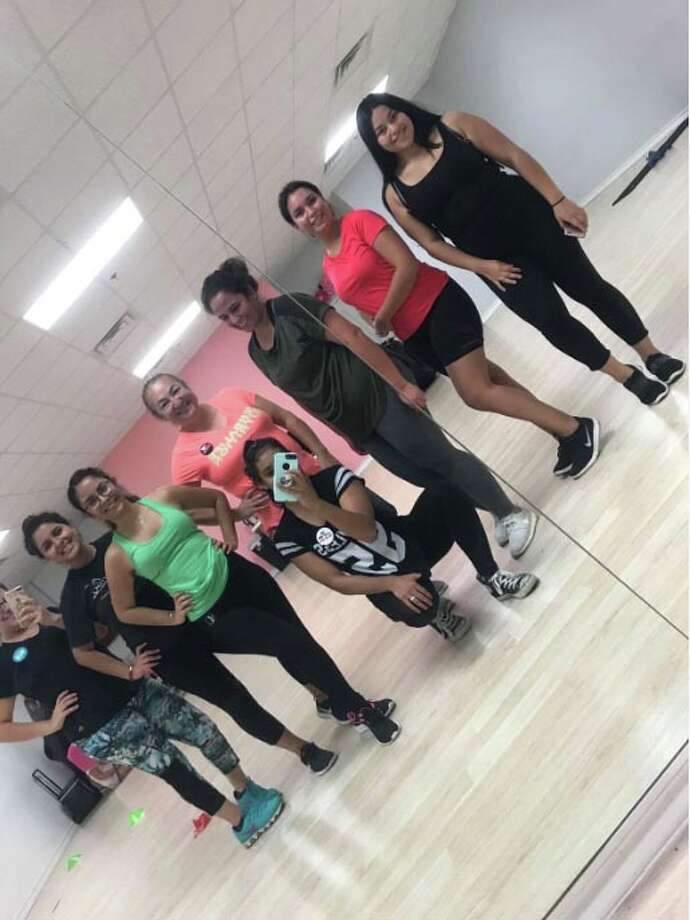 A group of women at Crunch FitnessOct. 23, 2018 Photo: TAMIU Health And Physical Activity Club