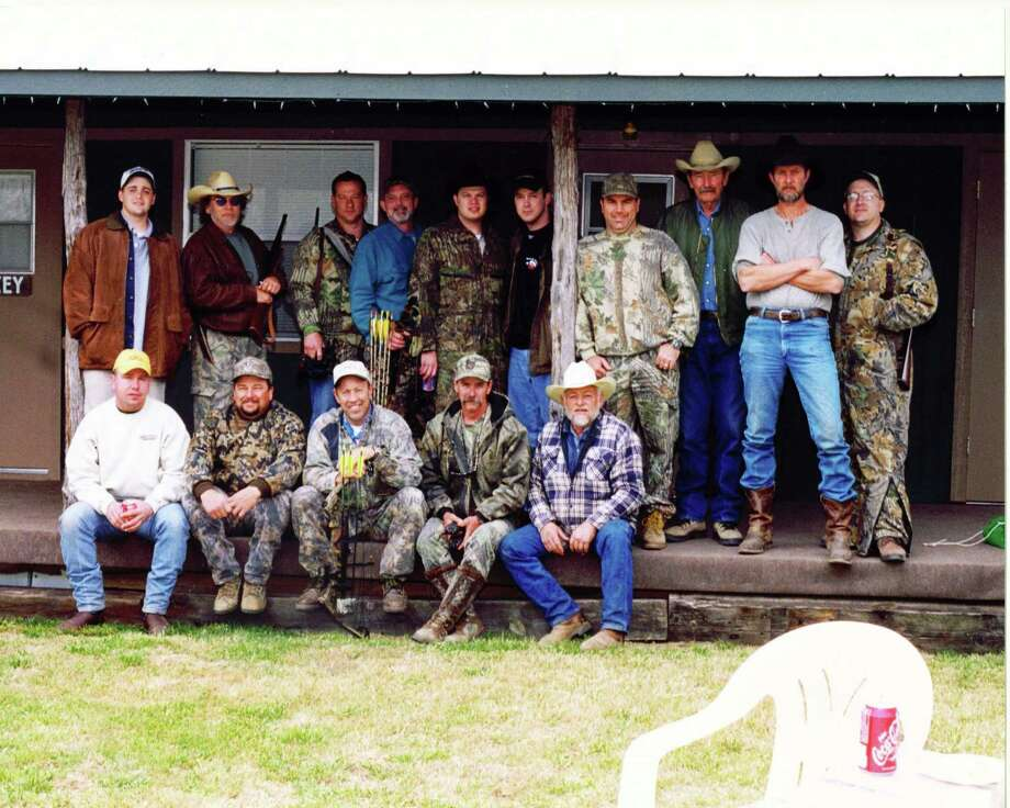 These are the hunters and hunting guides that were at a hunt I went on at the Covered Gate Ranch west of Uvalde, Texas. Photo: Larry J. LeBlanc