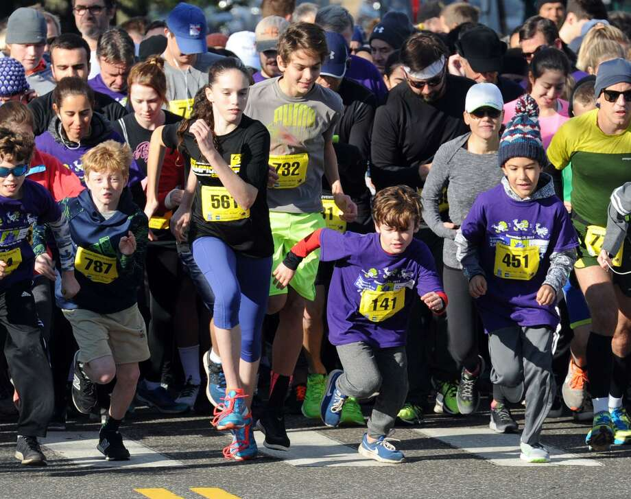 The Greenwich Alliance for Education Turkey Trot 5K & 1 Mile Walk/Run will be held on Nov. 24. Photo: File / Bob Luckey Jr. / Hearst Connecticut Media / Greenwich Time