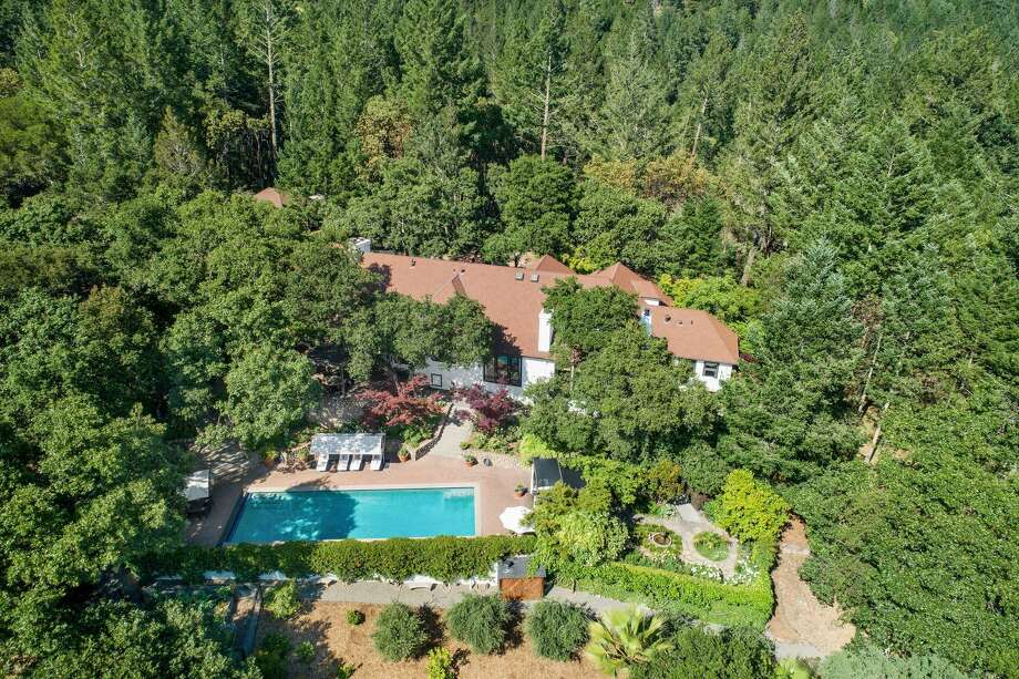 Actor and director Robert Redford is selling his 10-acre wine country estate in St. Helena, Calif., for $7.5 million. Photo: Open Homes Photography