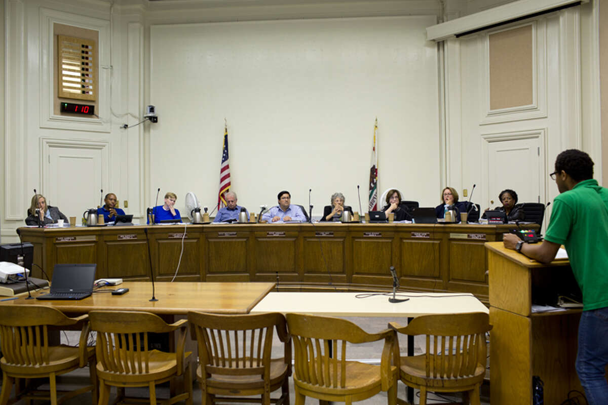 The Berkeley City Council, September 2018.
