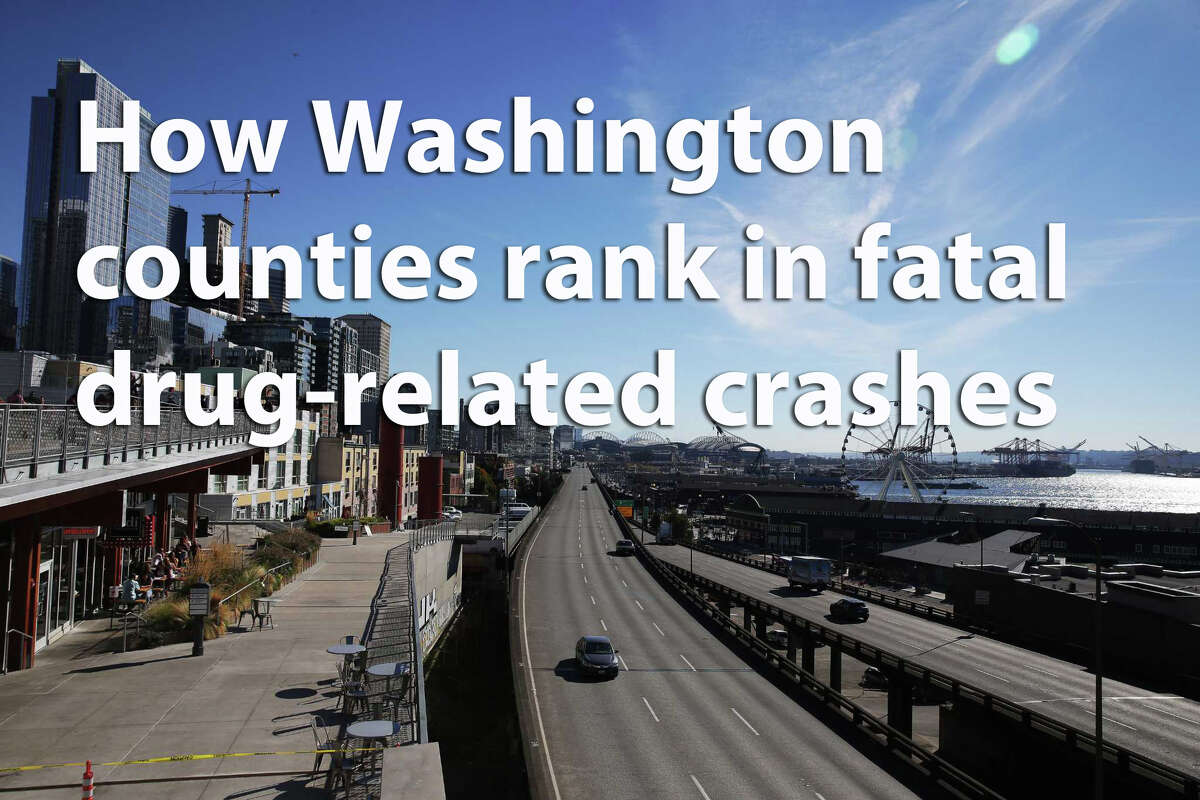 A law firm specializing in personal injury cases used State Patrol data to assess how drugs play a role in the fatal crashes in each of Washington's 39 counties. Here's how they rank in terms of how often drugs factor into each county's deadly crashes. Read on.
